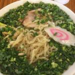 中村屋 - ネギの下の麺