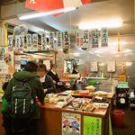 魚菜小売市場 - 市場の奥にある「ご飯売り場」