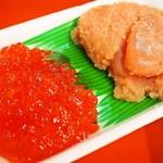 魚菜小売市場 - 筋子 & タラコ