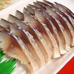 魚菜小売市場 - 〆鯖