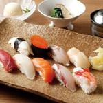おたる政寿司 - ランチ:旬華2,980円(税抜)