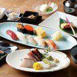 おたる政寿司 - 花園8,000円(税抜)