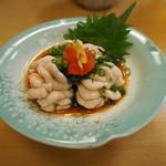 焼鳥・海鮮料理 鳥忠 - 白子ポン酢