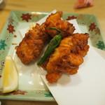 焼鳥・海鮮料理 鳥忠 - 鶏のカラ揚げ