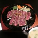 肉が一番 - テンダーステーキ