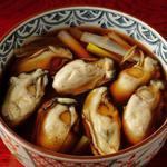 牡蠣ときのこ蕎麦