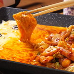 スペシャルチーズダッカルビ(1人前)国産若鶏使用
