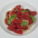 グストーソ 銀座 - フルーツトマトの冷製カッペリーニ