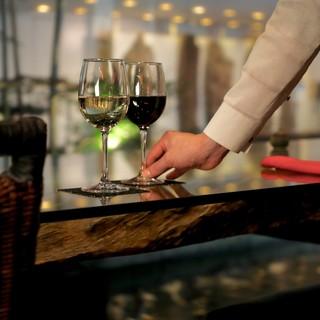ワインから日本酒まで<種類豊富なドリンク>