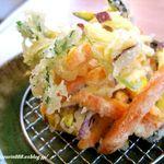 矢乃家 - ●びっくり根菜かき揚げ