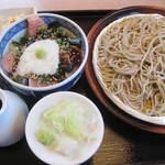 矢乃家 - ●ざる蕎麦&ミニまぐろ丼