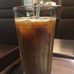 ビナスタカフェ - アイスコーヒー、今年は沢山飲んだなー