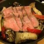 リフレッツ - 牛ロースと野菜のグリル