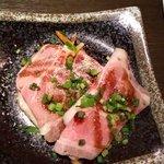 鈴喜福太郎 - ローストポークは上富良野産!       しっとりしてて美味しい♬