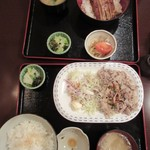 今井総本店 - 揃うとご飯が多い