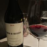 CANOVIANO ANNEX - この日いただいたワイン