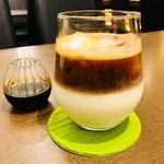 カフェ ヌック - アイス・ラテ DOUBLE(600円)