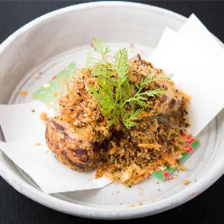 手作りふりかけで楽しむ『豚角煮の唐揚げ』