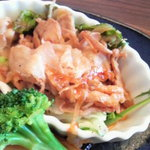 7732305 - 豚(豚バラ肉スライス)生姜焼き部分アップ