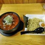 武市総本店 - 石焼つけ麺(激辛150)