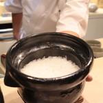 味あら井 - 赤尾米の土鍋ご飯
