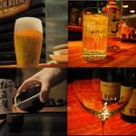 紗羅餐 - ドリンク写真:ビール・日本酒・焼酎・ワイン・ハイボールなど豊富にドリンクを揃えております。