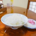 西山艸堂 - ご飯