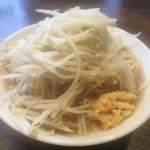 伝家 - ガッツリラーメン(650円)野菜ちょいマシ+ニンニク