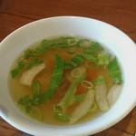 プアンタイ - Cセット スープ