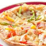 カモシカ - ミックスピザ