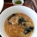 北京 - スープ付きます