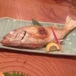 はせ川お食事処 - 料理写真:のどぐろ塩焼き 800円位