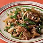 鶏ももと野菜の名古屋味噌炒め