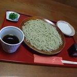 松喜庵 - ざるそば大盛り950円