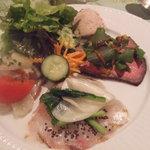 レストラン タイラ - 前菜の盛り合わせ