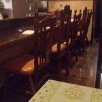 レストラン タイラ - カウンター