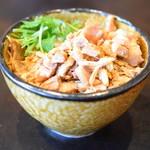 中華そば 四つ葉 - チャーシュー丼