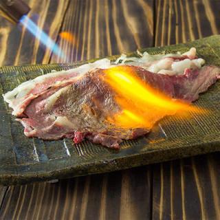 おすすめNo.1!!!肉寿司名物「さしとろ」