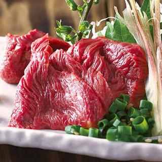 おすすめ料理『馬赤身』