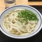 一福 - かけうどん200円