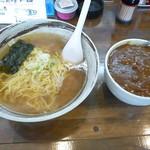 愛幸 - かけラーメン&ミニカレー2017.12月