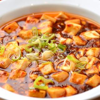 こだわり!【麻婆豆腐】は山椒薫る本場の味わい◎