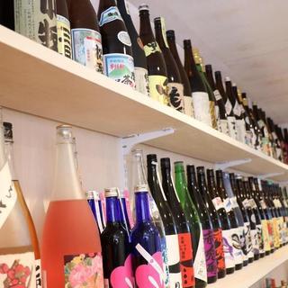 【アルコール¥300~】焼酎・日本酒・梅酒合せて100種以上