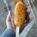 大山田パーキングエリア(上り線)スナックコーナー - 五平餅