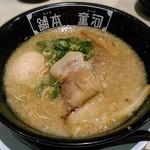河童ラーメン本舗 - 料理写真:【河童ラーメン 煮玉子入り】¥820