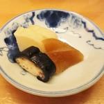 日本料理 銀座 大野 - 漬物
