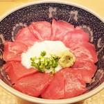 日本料理 銀座 大野 - 本鮪ばくだん丼