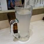 四谷 政吉 - そば焼酎の蕎麦湯割り:280円×2