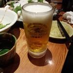 魚我志 むさし - 生ビール