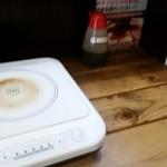 77338110 - IHヒーターでつけ汁温めるのは斬新でした!(°▽°)
